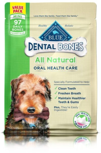 Blue buffalo natural mini dental bones