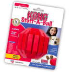 red dog chew toy Kong for big dogs