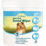 Excel medicated dog dental wipes made in USA