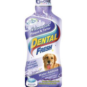dog advanced dental water addictive