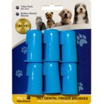 dog finger toothbrush set