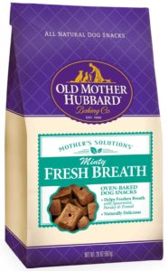 Minty dog treats old mother hubbard dental treats