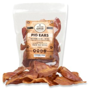 Pig ear dog treats