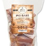 Jumbo pig ear dog treat