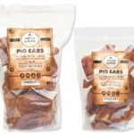 healthy pork ear dog treat bag with premium pig ear