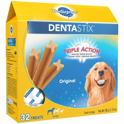 Pedigree Dentastix large dental treats