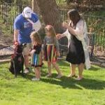 Wylie family credits their dog, Marley, with helping fight off knife-wielding home intruder.