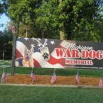 Michigan War Dog Memorial Honors The Fallen Dogs Who Served Alongside U.S. Soldiers.