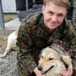 Soldier to be reunited with dog he befriended during deployment.