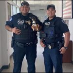 Encinal Police help reunite a lost dog with a family days after a tragic accident.